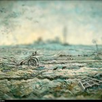 Vincent van Gogh - en mode Tilt-shift - snow-covered-fi