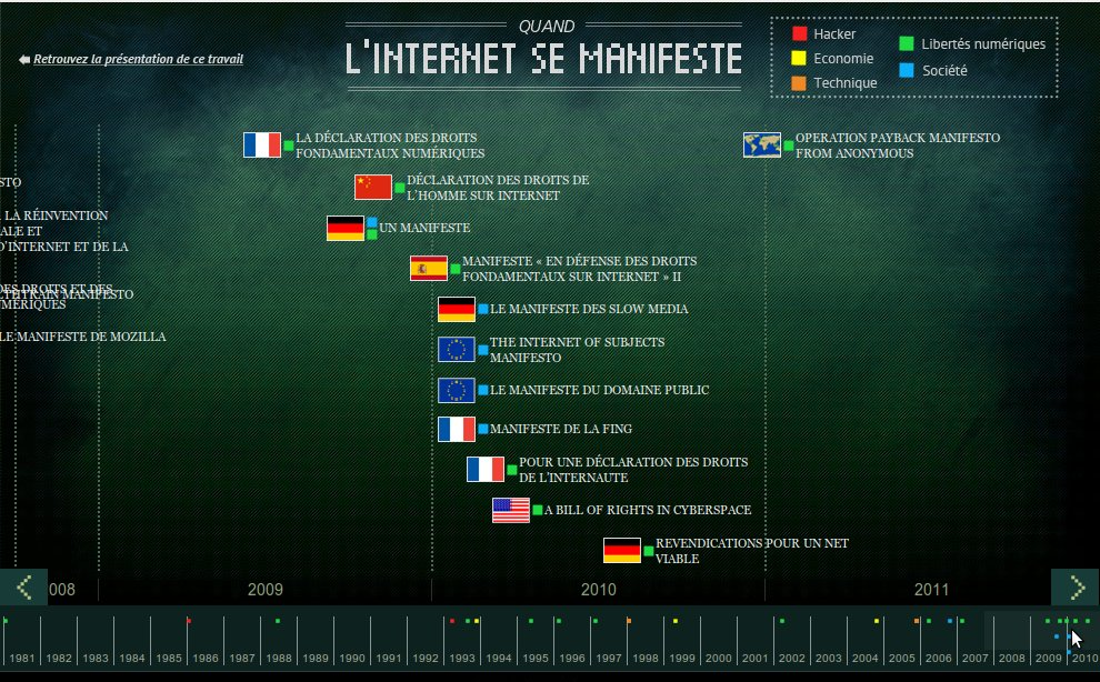 Quand l'Internet se manifeste | OWNI, Digital Journalism