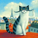a_cat_in_Paris_by_Aguaplano