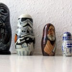 star wars poupees russes
