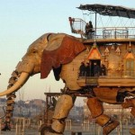 steampunk elephant
