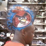 Coiffure angry birds