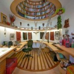 bureau bibliotheque