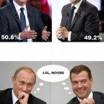Hollande - Sarsakoy vs Poutine - Medvedev (lol noobs)