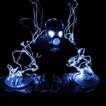 Light painting - DJ