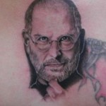 Tatouage - Iregret - Steve Jobs