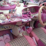 Voiture Hello Kitty