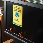 Greenpeace - Do not leave your electrical appliances on stand by