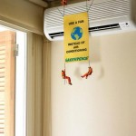 Greenpeace - Use a fan instead of air conditioning