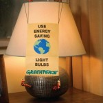 Greenpeace - Use energy saving light bulbs