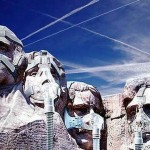 Mount Rushmore - masques  gaz