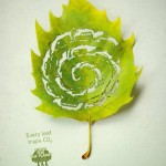 Plant for the planet - Every Leaf traps Co2 3