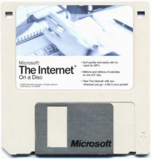 Disquette Microsoft - the internet on DOS